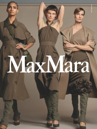 Max Mara S/S 2019 by Steven Meisel