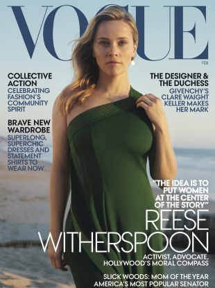 US Vogue February 2019 : Reese Witherspoon by Zoe Ghertner