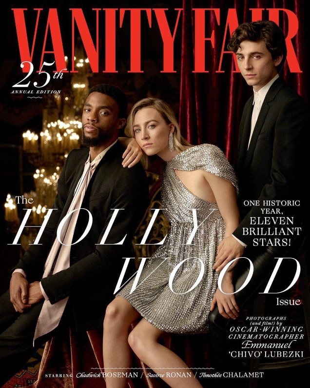 Vanity Fair March 2019 : The Hollywood Issue by Emmanuel Lubezki