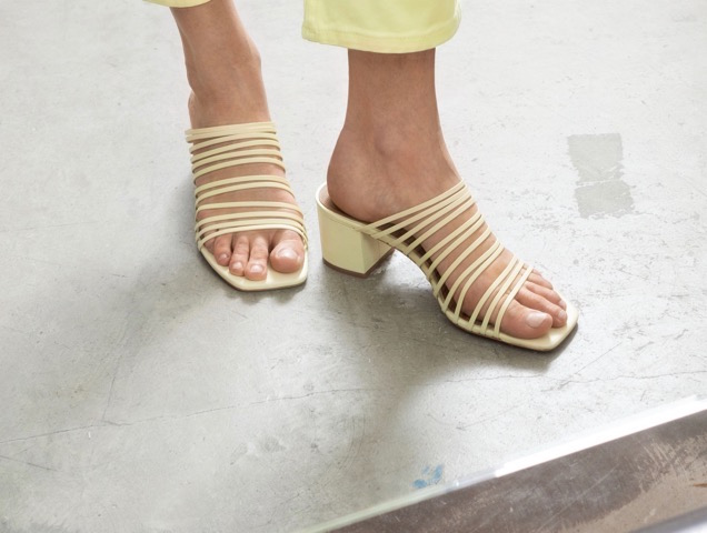 17 Pairs of Square-Toe Sandals for
