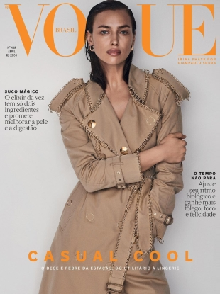 Vogue Brazil April 2019 : Irina Shayk by Giampaolo Sgura