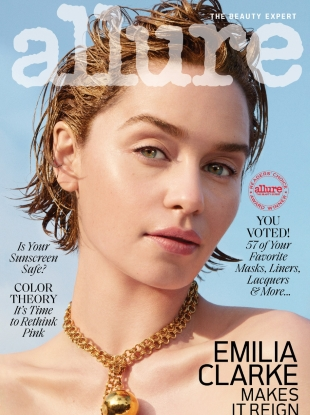 Allure June 2019 : Emilia Clarke by Marcus Ohlsson