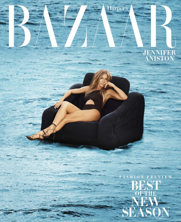 US Harper's Bazaar June/July 2019 : Jennifer Aniston by Alexi Lubomirski
