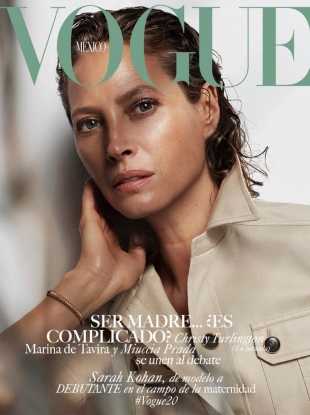 Vogue Mexico May 2019 : Christy Turlington by Alique
