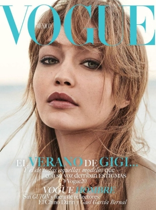 ogue Mexico June 2019 : Gigi Hadid by Giampaolo Sgura