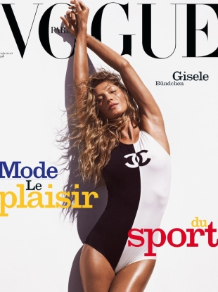 Vogue Paris June/July 2019 : Gisele Bündchen by Mikael Jansson