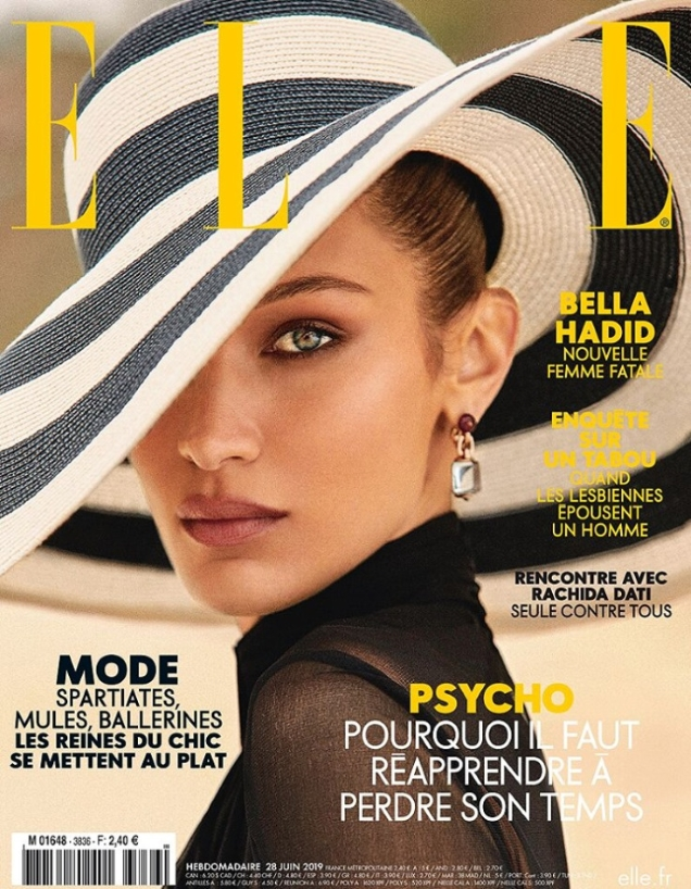 Elle France June 28, 2019 : Bella Hadid by Zoey Grossman