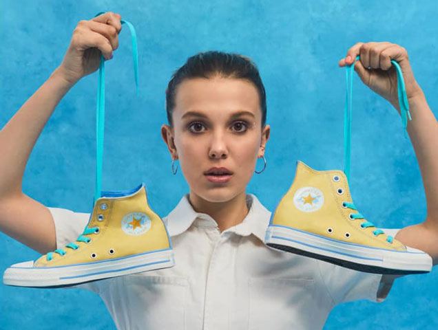 Distribuir participar crisantemo  Millie Bobby Brown x Converse Millie By You Collection - theFashionSpot