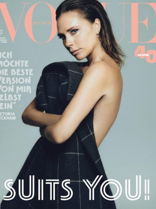 Vogue Germany August 2019 : Victoria Beckham by Chris Colls