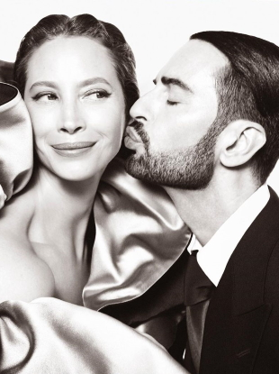 Marc Jacobs F/W 2019.20 : Christy Turlington & Marc Jacobs by Steven Meisel