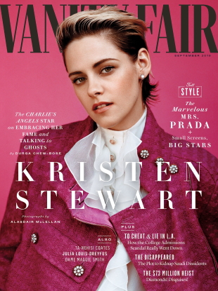 Vanity Fair September 2019 : Kristen Stewart by Alasdair McLellan