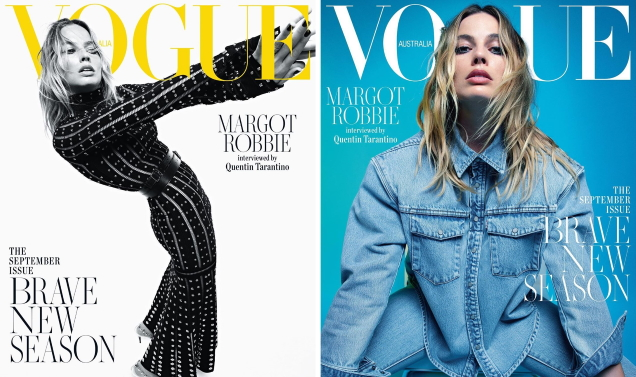 Vogue Australia September 2019 : Margot Robbie by Mario Sorrenti