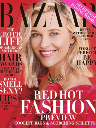 US Harper's Bazaar November 2019 : Reese Witherspoon by Camilla Akrans