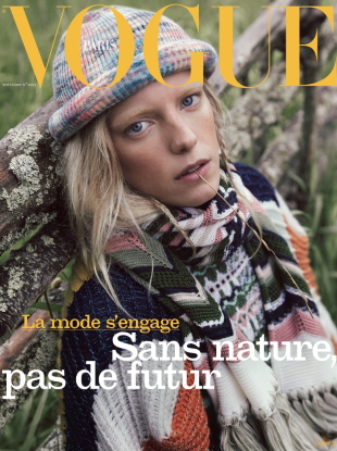 Vogue Paris November 2019 : Erika Linder by Mikael Jansson