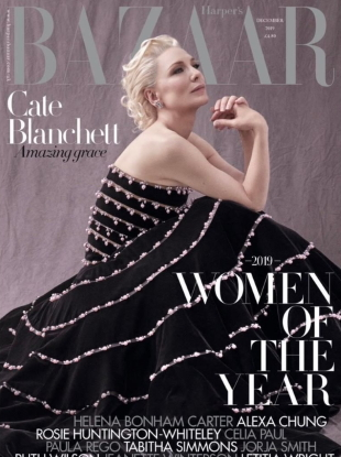 UK Harper's Bazaar December 2019 : The 'Women of the Year' Issue