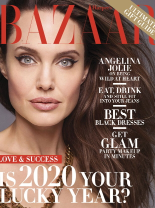 US Harper's Bazaar December 2019/January 2020 : Angelina Jolie by Solve Sundsbo