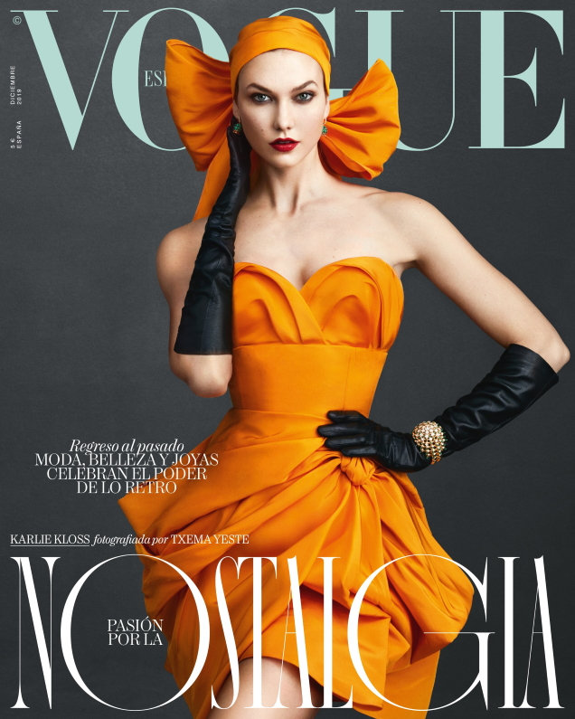 Vogue España December 2019 : Karlie Kloss by Txema Yeste