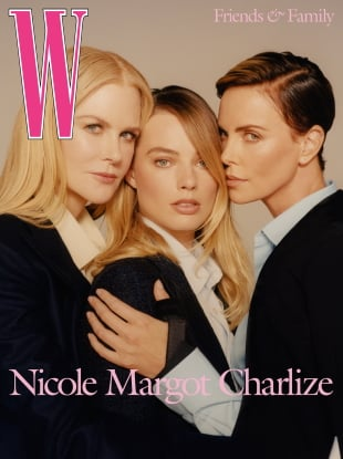 W Magazine Volume #8 2019 : Nicole Kidman, Margot Robbie & Charlize Theron by Colin Dodgson