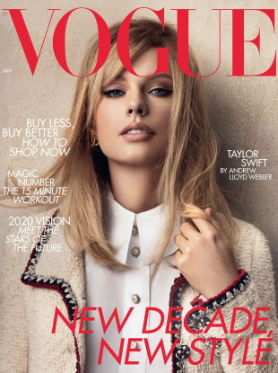 UK Vogue January 2020 : Taylor Swift by Craig McDean