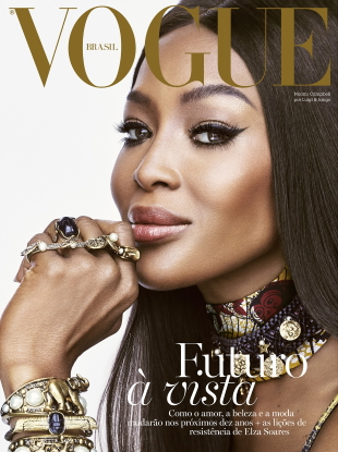 Vogue Brazil December 2019 : Naomi Campbell by Luigi & Iango