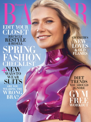 US Harper's Bazaar February 2020 : Gwyneth Paltrow by Zoey Grossman