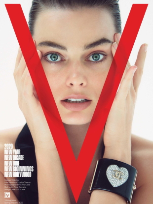 V Magazine #123 Spring Preview 2020 : Margot Robbie by Chris Colls