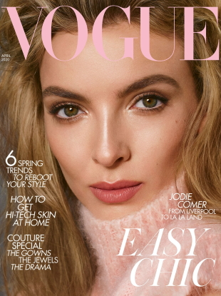 UK Vogue April 2020 : Jodie Comer by Steven Meisel