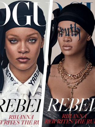 UK Vogue May 2020 : Rihanna by Steven Klein