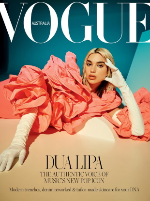 Vogue Australia April 2020 : Dua Lipa by Charlie Dennington