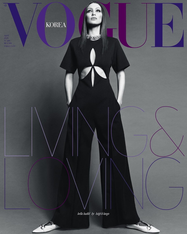 Vogue Korea April 2020 : Bella Hadid by Luigi & Iango