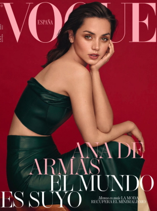 Vogue España April 2020 : Ana de Armas by Thomas Whiteside