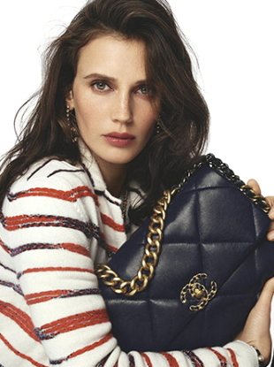 Chanel Handbags S/S 2020 : Marine Vacth, Margaret Qualley & Taylor Russell by Steven Meisel
