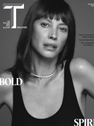 T: The New York Times Style Singapore April 2020 : Christy Turlington by Chris Colls