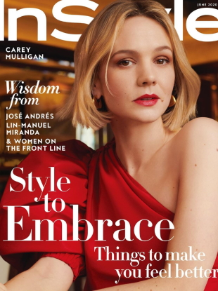 US InStyle June 2020 : Carey Mulligan by Horst Diekgerdes