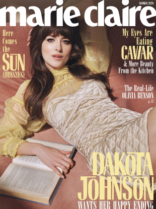 US Marie Claire Summer 2020 : Dakota Johnson by Steven Pan