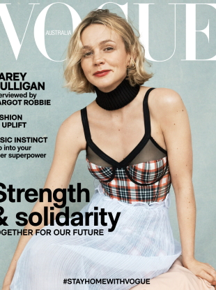 Vogue Australia May 2020 : Carey Mulligan by Josh Olins