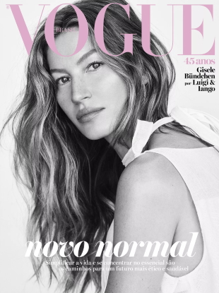 Vogue Brazil May 2020 : Gisele Bündchen by Luigi & Iango