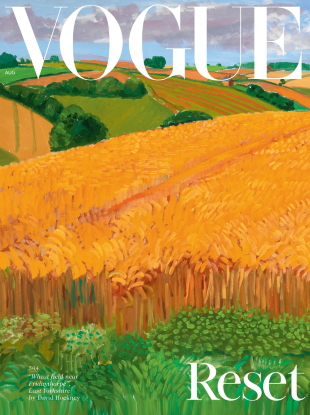 UK Vogue August 2020 : British Landscapes by Fourteen Different Subjects