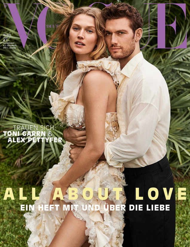 Vogue Germany June 2020 : Toni Garrn & Alex Pettyfer by Giampaolo Sgura