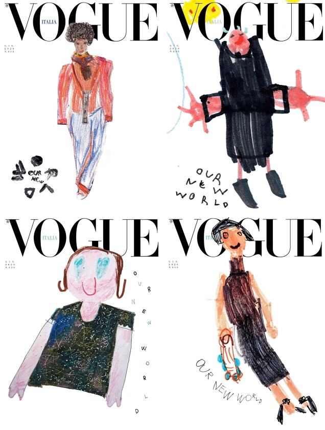 Vogue Italia June 2020 : The 'Our New World' Issue