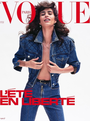 Vogue Paris July 2020 : Mica Argañaraz by Nathaniel Goldberg & Natasja Madsen by Henrik Purienne