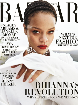 US Harper's Bazaar September 2020 : Rihanna by Gray Sorrenti