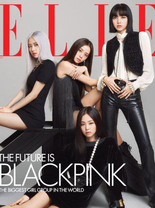 US Elle October 2020 : BLACKPINK by Kim Hee June