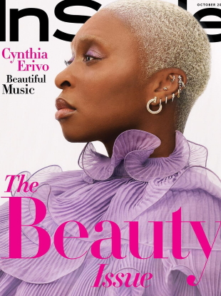 US InStyle October 2020 : Cynthia Erivo by Joshua Kissi