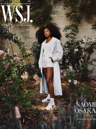 WSJ. Magazine September 2020 : Naomi Osaka by Micaiah Carter