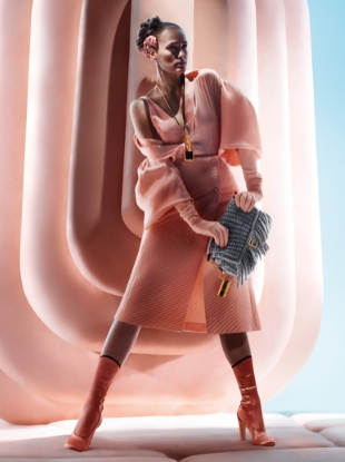 Fendi F/W 2020.21 by Nick Knight