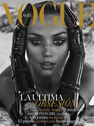 Vogue Mexico & Latin America October 2020 : Ana de Armas by Alique