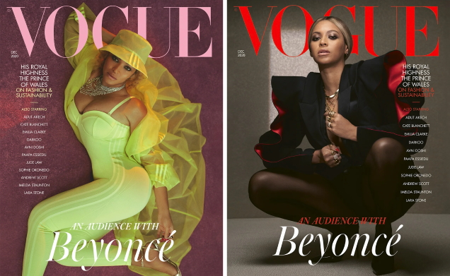 UK Vogue December 2020 : Beyoncé by Kennedi Carter