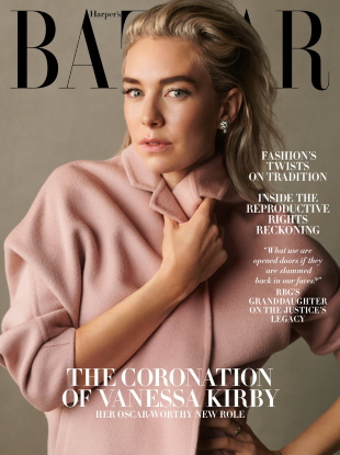 US Harper's Bazaar December 2020/January 2021 : Vanessa Kirby by Scott Trindle