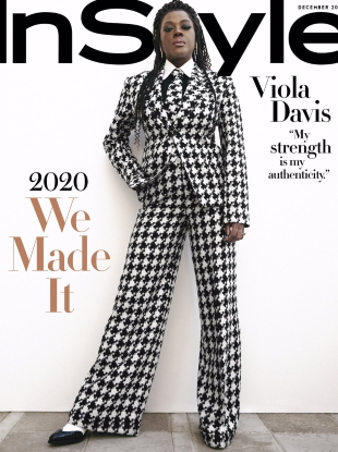 US InStyle December 2020 : Viola Davis by AB+DM